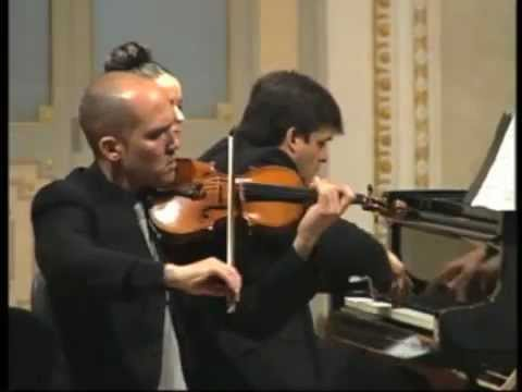Maurice Ravel: Piano Trio I. Trio Arbós. Juan Carlos Garvayo (piano)
