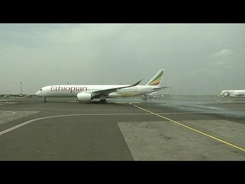 Ethiopian Airlines Receives Africa's First Airbus A350