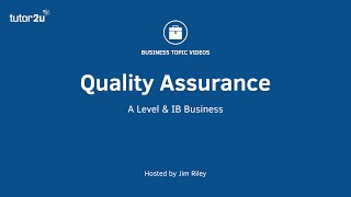 Quality Management - Quality Assurance