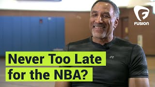 61 Years Old and Trying for NBA