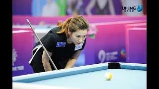 Han Yu (韩雨) vs Rubilen Amit  - Semi Final 【2018 Women's World 9 Ball Championship】