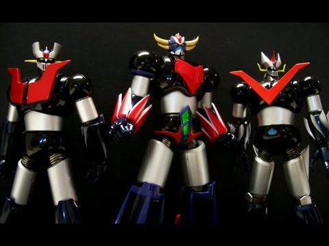 Bandai Tamashii Nations Super Robot Chogokin Grendizer Hd video