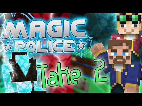 Minecraft Magic Police #95 - Lightning Guardian Take 2