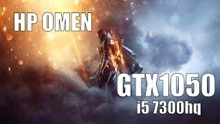 Battlefield 1 HP OMEN 15 GTX1050