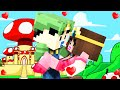 Minecraft - WHO'S YOUR MOMMY? - BABY LUIGI KISSES PRINCESS PE...
