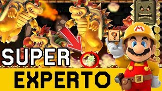 INICIO Y FINAL EXTREMOS !! - SUPER EXPERTO NO SKIP | Super Mario Maker - ZetaSSJ