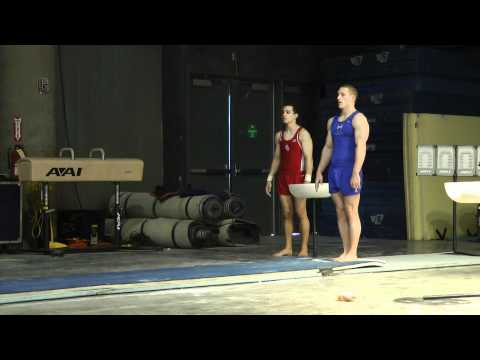 Steven Legendre - Vault - 2012 Winter Cup Prelims