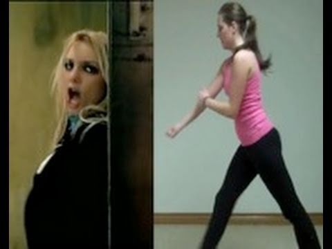 Britney Spears 'me Against The Music' Dance Tutorial video