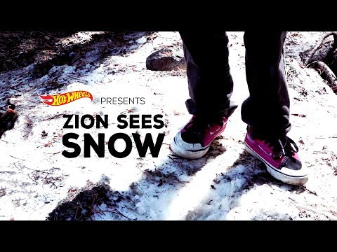 Hot Wheels Presents: Zion Sees Snow For The First Time