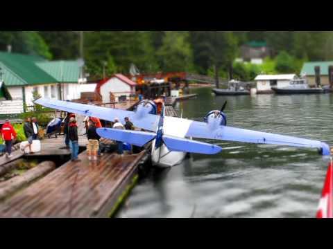 Dawsons Landing - Grumman Goose Landing - Time Lapse