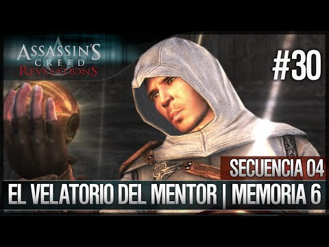 Assassin's Creed Revelations | Walkthrough | Secuencia ADN 4 | El velatorio del mentor |6| 100%