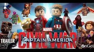 LEGO Captain America CIVIL WAR Trailer