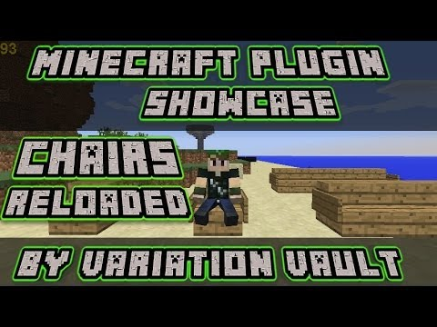 Minecraft Bukkit Plugin - Chairs Reloaded - let players sit