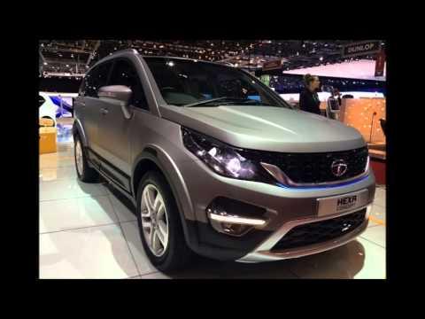 Tata Hexa  SUV unveiled at Geneva motor show 2015|Tata Hexa SUV|Cars and Bikes