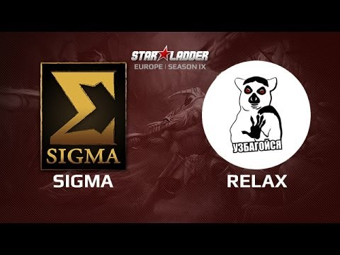 Sigma vs Relax, Star Series Europe Day 17, Game 2