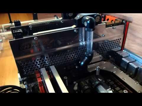 Custom Made Watercooled Desk - Part 2