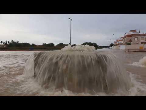 Inundaciones en Torrevieja (19/11/2018)