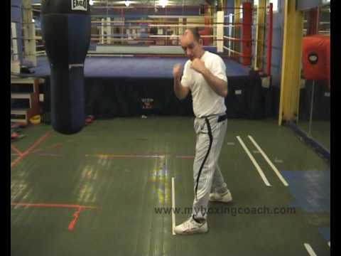 Boxing Techniques - Footwork - The Pivot Image 1