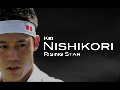 Kei Nishikori - Rising Star // 2015 ᴴᴰ