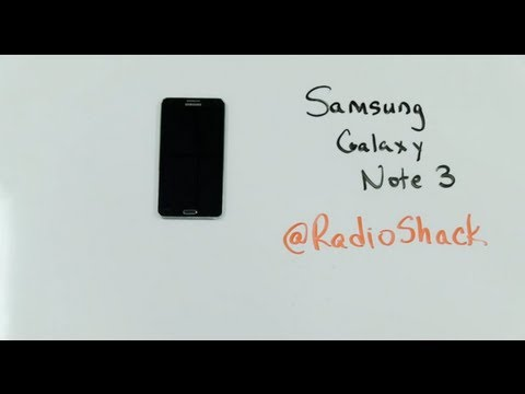 Samsung Galaxy Note 3 - Closer Look - RadioShack