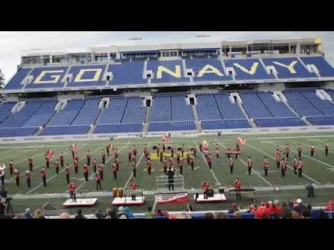 Annandale High School Marching Band -- October 18th 2014