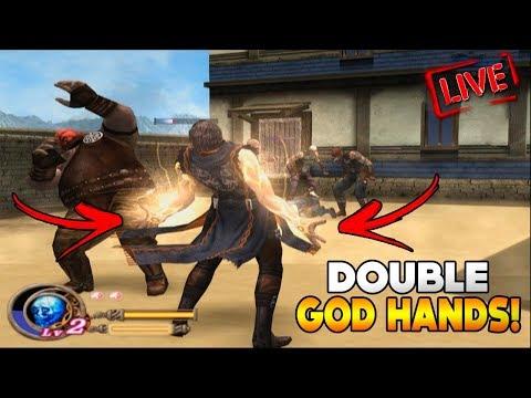 God Hand - JOGANDO COM AS DOUBLE GOD HANDS! (ATÉ ZERAR?!) thumbnail
