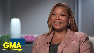 Queen Latifah goes under the sea for 'The Little Mermaid Live' l GMA