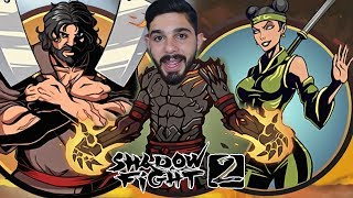 İKİ BOSS ! Yanardağ vs Tutulma Wasp ve Kasap ! Shadow Fight 2 Mod