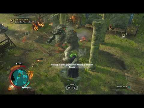 Graug vs Graug (vs Drake) Middle-earth Shadow of War