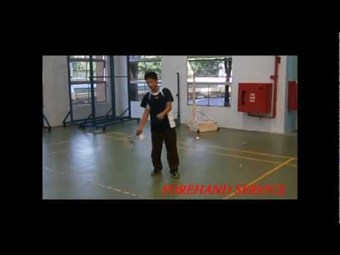 Teknik Dan Kemahiran Servis Dalam Badminton video