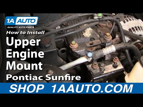 How To Install Upper Engine Mount Cavalier Sunfire 95-05 1AAuto.com