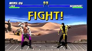 Ultimate Mortal Kombat 3 | Jax Playthrough III