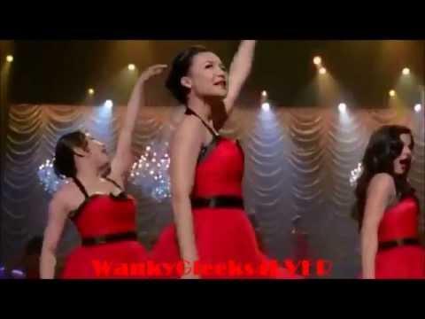 Glee - Edge Of Glory (Lady Gaga) Full Performance 3x21 Nationals