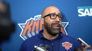 Knicks Training Camp 2019: Coach Fizdale Speaks on Day 3