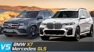 So sánh BMW X7 và Mercedes GLS | Thiết kế, Tính năng & Công nghệ | XE24h