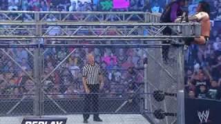 Jeff Hardy Vs CM Punk Steel Cage
