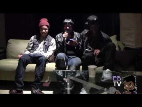 Eb the Celeb interviews The New Boyz