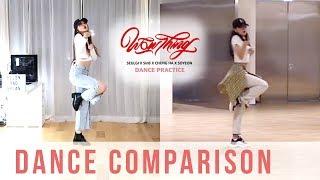 Seulgi Wow Thing Dance Comparison Ellen And Brian