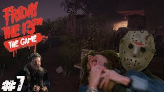 GOING CRAZY! | Friday the 13th The Game #7