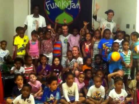 #FunikiJam Live Show at Brick Church School - 07/08/2013