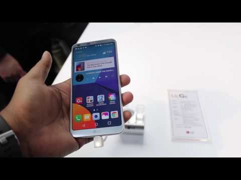 Hindi | Lg G6 Hands On, Camera, Features, India Price