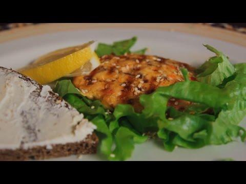 Котлета из семги. Рецепт от шеф-повара Норвежский завтрак