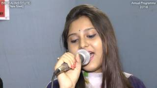 Nagin Dance Song Live by Sayanti Naskar | Bhorai Institute (New Town) Annual Programme - 2016