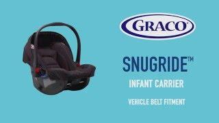 GRACO SnugRide & Junior Baby car seat installation guide   Copy