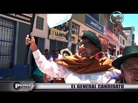Edwin Donayre: El general es candidato a la presidencia regional de Ayacucho