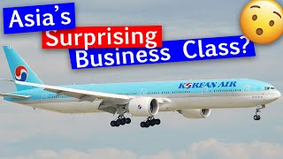 Korean Air Business Class 777