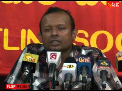 Frontline Socialist Party Media Conference - 2015 Nov 16
