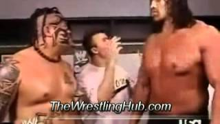 Funny WWE Wrestling Moment with Great Khali and Umaga