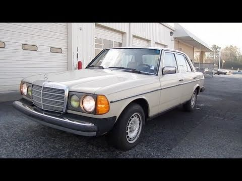 1983 mercedes benz 300d w 367k miles start up engine in for Mercedes benz 1983