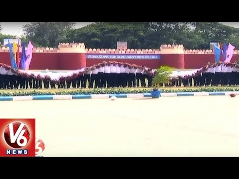 CRPF Constables Passing Out Parade Held In Hakimpet Training Center | V6 News